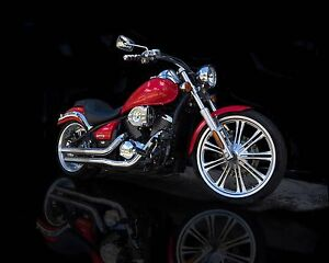 One of a Kind! Custom Kawasaki Vulcan 900C