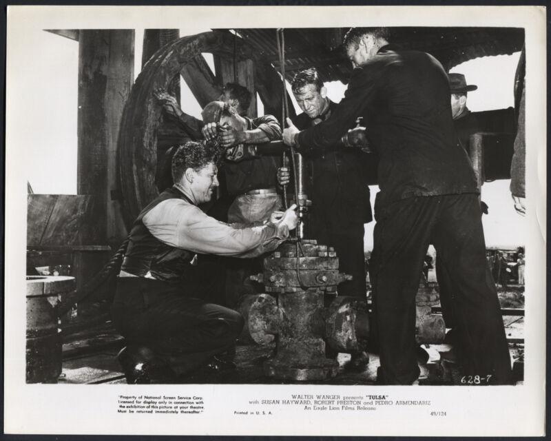 Tulsa '49 ROBERT PRESTON LLOYD GOUGH OIL DRILL VERY RARE