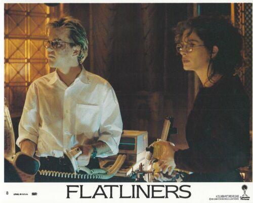 Flatliners Original 8x10 Lobby Card Poster Photo 1990 #8 Roberts Baldwin Bacon