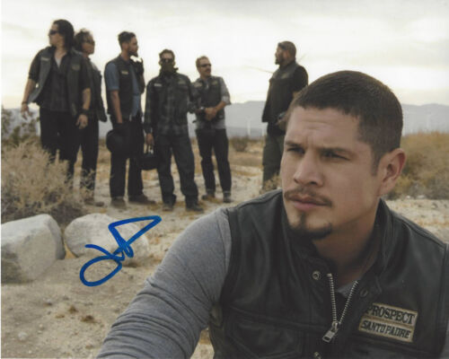 JD PARDO SIGNED AUTHENTIC 'MAYANS M.C.' 8X10 PHOTO B w/COA ACTOR SONS OF ANARCHY
