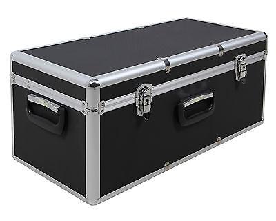 Aufbewahrungskoffer Transportkoffer Lagerbox Alubox S Alukoffer - Optik schwarz