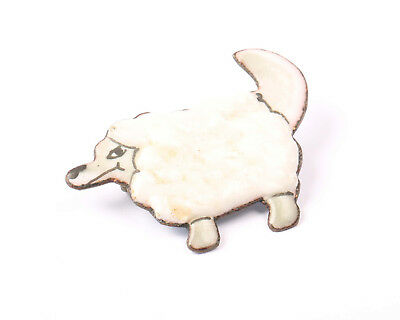 Wolf in Sheep's Clothing Brooch, Vintage 1970s (Wolf In Sheeps Clothing Costume)