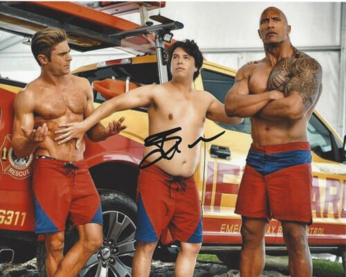 ACTOR JON BASS SIGNED BAYWATCH MOVIE 8x10 PHOTO B W/COA MIRACLE WORKERS