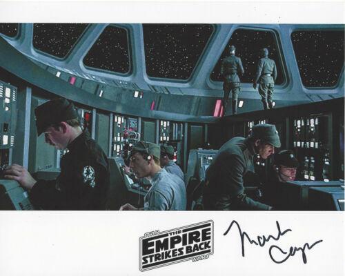 MARK CAPRI SIGNED STAR WARS THE EMPIRE STRIKES BACK EPISODE V 8x10 PHOTO 2 w/COA
