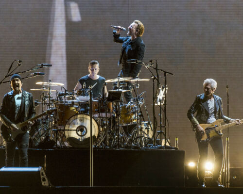 U2, 8x10 Concert Color Photo