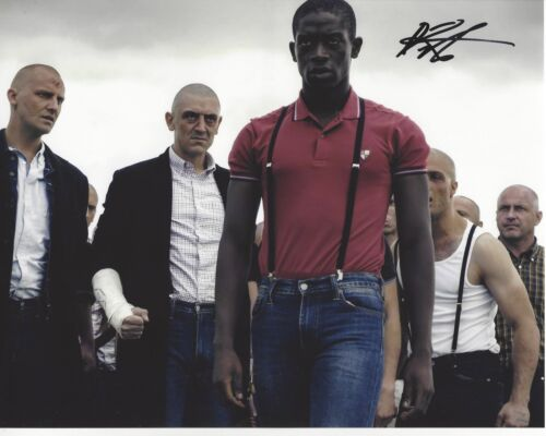 ACTOR DAMSON IDRIS SIGNED AUTHENTIC SNOWFALL 8X10 PHOTO A W/COA FRANKLIN SAINT