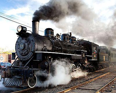 Steam Train 8 x 10 GLOSSY Photo Picture IMAGE #8