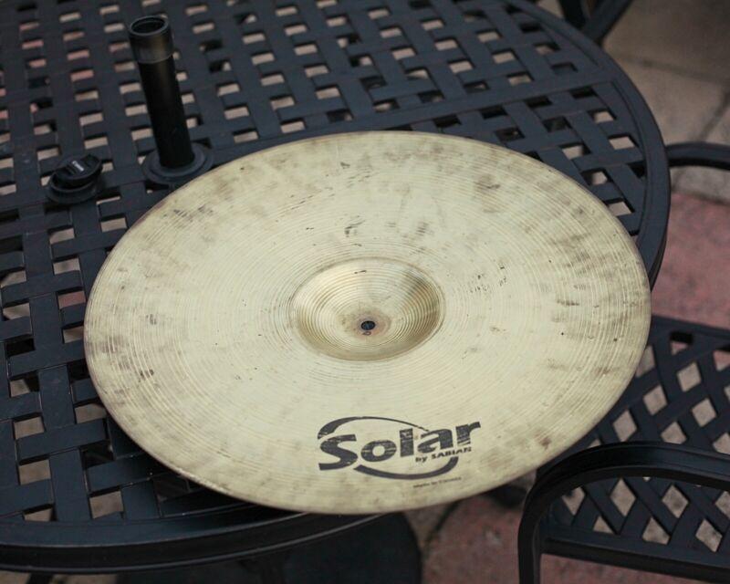 "Solar By Sabian Ride 20"" Cymbal Drum Accessory"