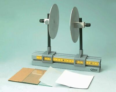 Parallel Plate Capacitor Demonstration Adjustable Distanceheight - Eisco Labs
