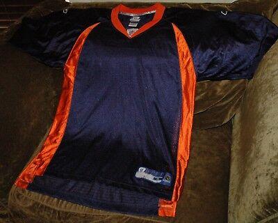 Denver Broncos BLANK jersey! Men's small NEW home blue NFL vintage - Custom Denver Broncos Jersey