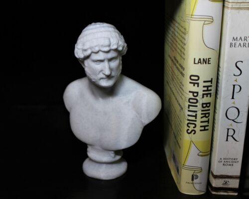 Hadrian (Caesar Augustus) Bust; 7-inch Statue of the Roman Emperor