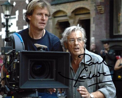 DIRECTOR PAUL VERHOEVEN SIGNED ROBOCOP MOVIE 8x10 PHOTO B w/COA BASIC INSTINCT