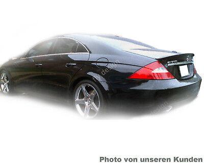 für Mercedes cls c219 500 350 abs heckspoiler heckflügel amg - a - Schwarz 197