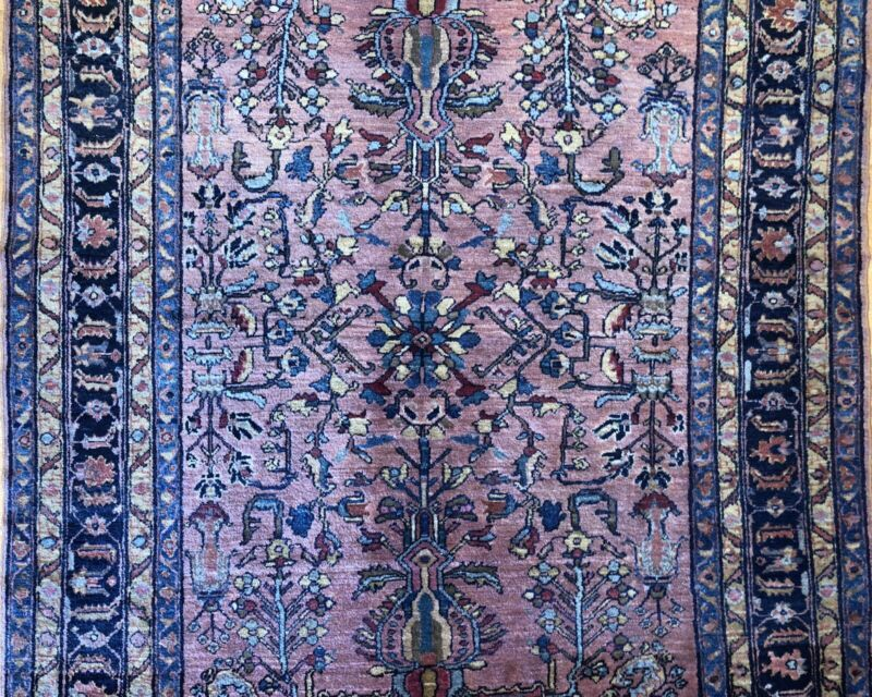Terrific Tribal - 1920s Antique Oriental Rug - Nomadic Carpet - 5.1 X 6.4 Ft.