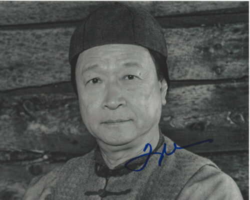 TZI MA SIGNED AUTHENTIC 'ARRIVAL' 8X10 PHOTO B w/COA 24 RUSH HOUR ACTOR PROOF
