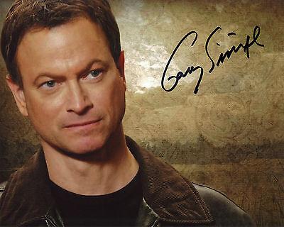 Gary Sinise - Mac Taylor - CSI:NY - Signed Autograph REPRINT