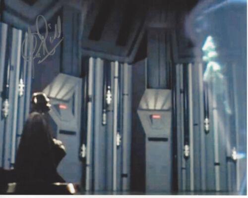 CLIVE REVILL SIGNED 'STAR WARS V: EMPIRE STRIKES BACK' EMPEROR 8X10 PHOTO 7 COA