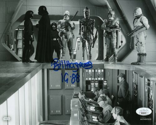 "Bill Hargreaves Autograph Signed 8x10 Photo - Star Wars ""IG-88"" (JSA COA)"