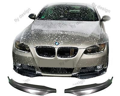 Aletas Para BMW e92 3er Coupé Spoiler Delantero Frontal Splitter Shürze Labio