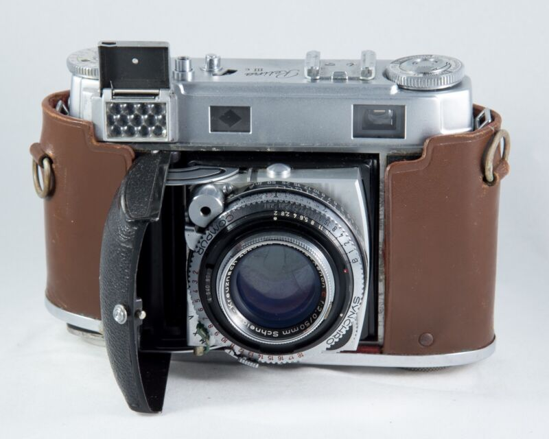 Kodak Retina IIIc Type 021 Ausf. II, with half case, tested