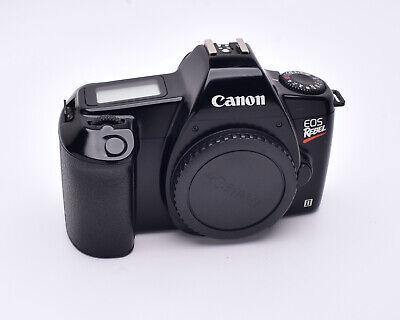 Canon EOS Rebel II AF 35mm SLR Film Camera Body with Body Cap (#5972) Canon Eos Camera Body Cap