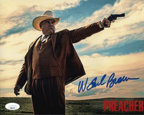 W. EARL BROWN Signed PREACHER 8x10 Photo IN PERSON Autograph JSA COA Cert