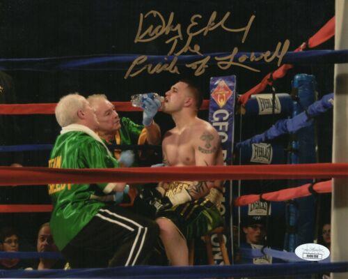 Dicky Eklund Autograph Signed 8x10 Photo - The Fighter (JSA COA)
