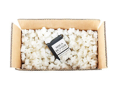 Funpak Packing Peanuts White Star Shaped 1.5 Cu Ft Bag Compostable Biodegradable