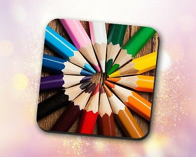 Miscellaneous ~ Colored Pencils, Circle Pattern, Gift, Decor