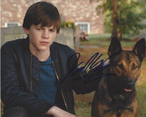 ACTOR JOSH WIGGINS SIGNED 'MAX' MOVIE 8X10 PHOTO B W/COA GIANT LITTLE ONES JOE
