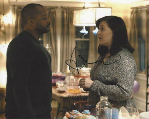 ACTRESS ALLISON TOLMAN SIGNED 'EMERGENCE' 8x10 PHOTO 2 COA FARGO TV SHOW SERIES