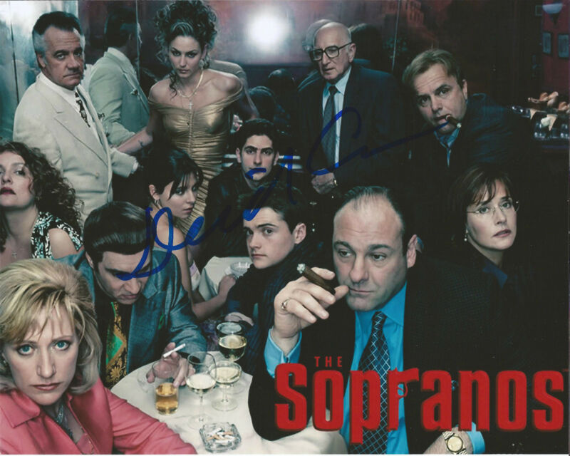 THE SOPRANOS CREATOR WRITER DIRECTOR DAVID CHASE SIGNED 8X10 PHOTO W/COA TONY B