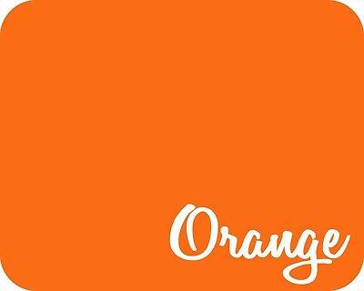 15 X 5 Yards - Stahls Fashion-film Heat Transfer Vinyl Htv - Matte Orange