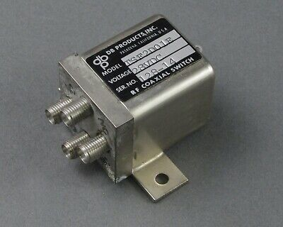 Db Products Tsf2d01e Rf Coaxial Switch Dc-18 Ghz 28 Vdc Sma Female Failsafe