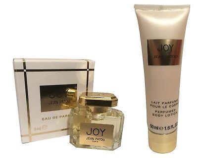 Joy by Jean Patou for Women Miniature Mini Perfume 5ml EDP + 50ml Body Lotion