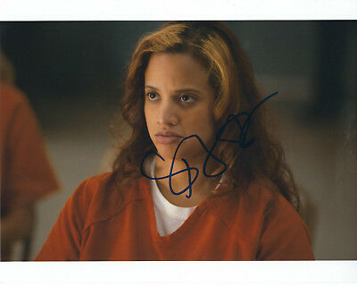 Dascha Polanco Orange Is The New Black Autographed Photo Signed 8X10  2 Dayanara