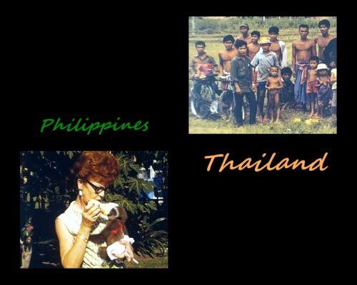 "Philippines PI & Thailand 8mm Home Movie 7"" Reel 400"