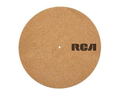 """RCA Plattentellerauflage aus Kork für Schallplattenspieler 12""""  (Plattenspieler Für Schallplatten)"""