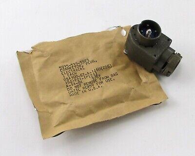 Amphenol 164-201-1p201 Ham Military Radio Ra Connector - 4-pin