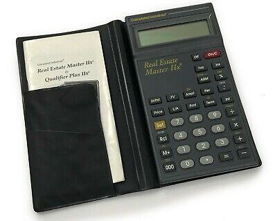 Calculated Industries Real Estate Master Iix Calculator