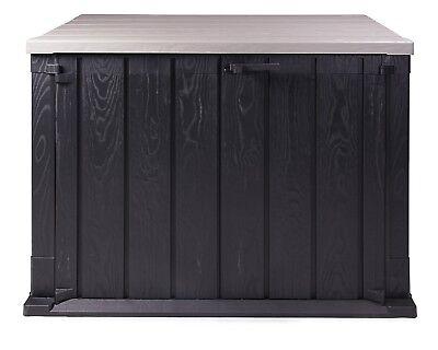 Ondis24 Mülltonnenbox Storer 750 L anthrazit-grau Aufbewahrungsbox abschließbar