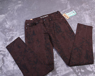 NWT NEW LOVE by DESIGN Juniors PANTS Size 7 Skinny Ankle