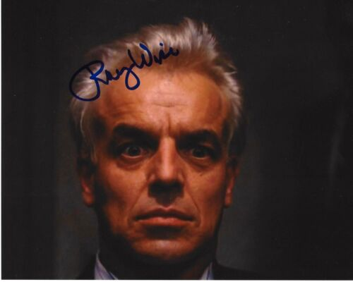 ACTOR RAY WISE SIGNED TWIN PEAKS 8x10 PHOTO A W/COA ROBOCOP SWAMP THING LELAND