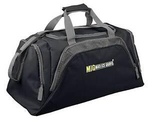 Mens-Large-Black-Sports-Gym-Duffle-Holdall-Bag-SPORTS-TRAVEL-WORK-MIG-26