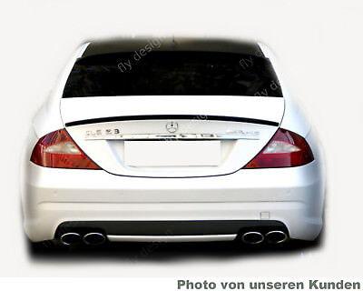 Mercedes Benz CLS W219 C219 AMG Autospoiler IRIDIUMSILBER Heck Lippe abrisskante