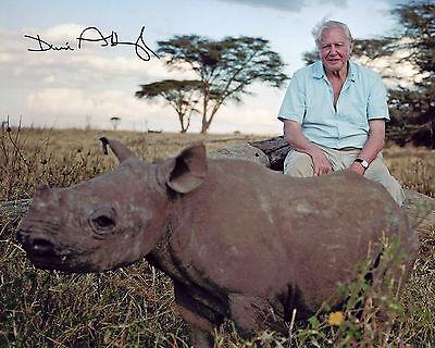Sir David Attenborough - Signed Autograph REPRINT