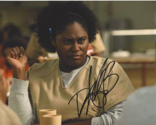 DANIELLE BROOKS SIGNED 'ORANGE IS THE NEW BLACK' 8X10 PHOTO C w/COA ACTRESS