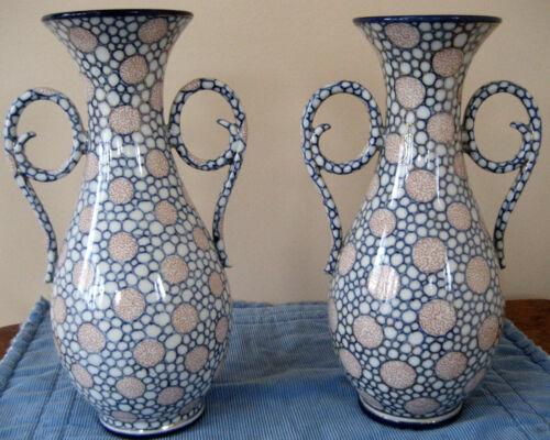 Pair of Porcelain Baluster form Vases c. 1895