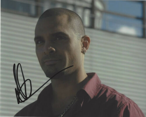 MICHAEL MANDO SIGNED AUTHENTIC 'BETTER CALL SAUL' NACHO 8X10 PHOTO B w/COA ACTOR