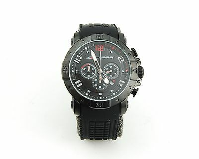 SEAT Herrenuhr Uhr Armbanduhr Chronograph Sport Cupra schwarz black
